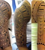 splendid samoan sleeve tatto tribe models