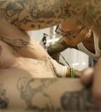 David Paul Morris - Chest / Sleeve / Shoulder / Hip Tattoos