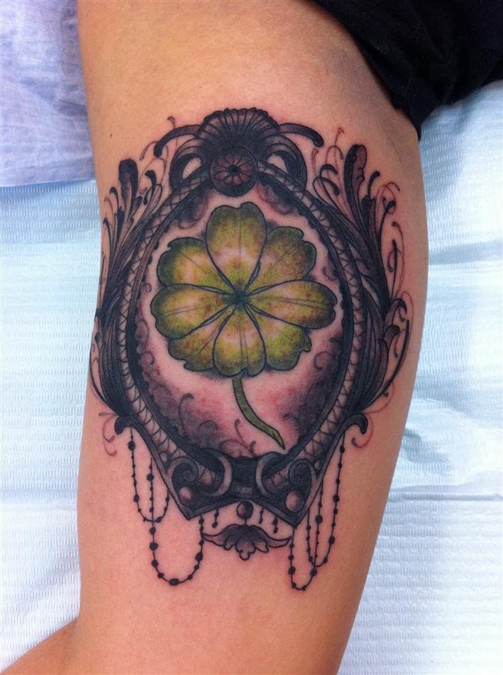 Derick Montez's Mythical Flower Tattoo – Tattoo Designs for Men