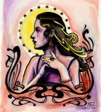 San Francisco Tattoo & Piercing Studio - Sacred Women Tattoo Design