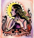 San Francisco Tattoo & Piercing Studio - Sacred Women Tattoo Design