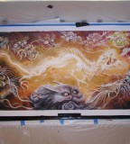 Mythical Dragons and Creatures Tattoo Designs Art Show