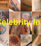 Various Celebrity Tattoos Designs & Arts