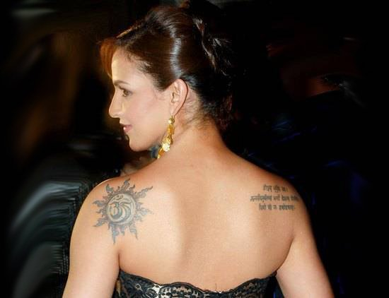 Bollywood Actresses And Their Sexy Tattoos Meanings
