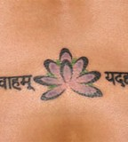 Sanskrit Tattoo Designs Are Popular Used by Celebrities