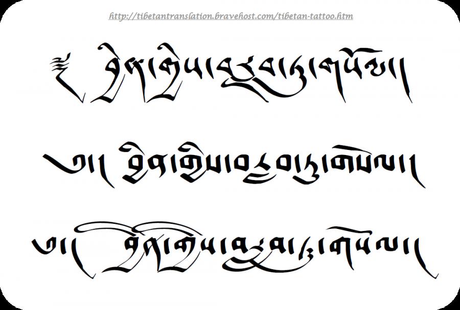 Sanskrit Tibetan Tattoo Pictures - | TattooMagz › Tattoo Designs ...