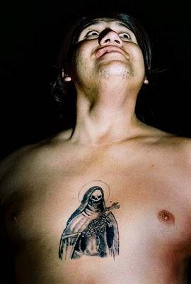 Santa Muerte Chest Tattoo for Men -   TattooMagz › Tattoo