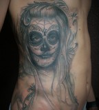 Santa Muerte La Catrina Tattoo