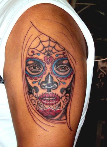 Santa Muerte Tattoo Lusuchen