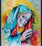 Santa Muerte Juan Salgado Art Tattoo