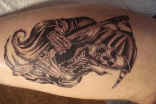 Santa Morte Tattoo Body Art