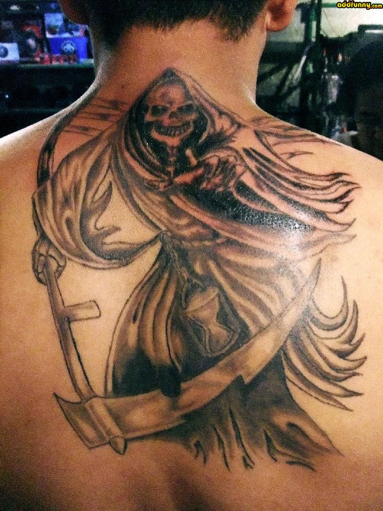 Dashing Santa Muerte Tattoos -   TattooMagz › Tattoo Designs
