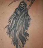 Xoch Santa Muerte Tattoo