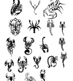 Scorpion Designs Tattoos