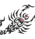 Cool Scorpio Tattoo Sample Design