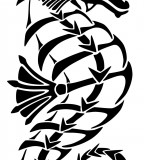 Tribal Tattoo Seahorse Ideas