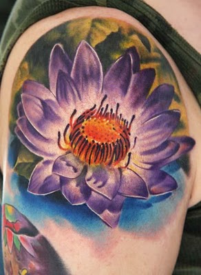 September Birth Flower Tattoo with Most Vibrant and Colorful Tattoos