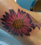 Elegant September Birth Flower Tattoo for Girl