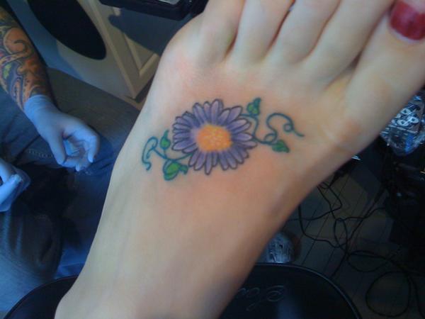 Twila Keeps Runnings Running September Birth Tattoo
