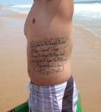 Serenity Prayer Tattoo Ideas - Religious Tattoo Design