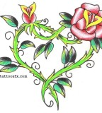 Shamrock Tattoo Designs Of Flowers