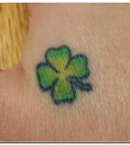 Shamrock Tattoo Ireland Design Pictures