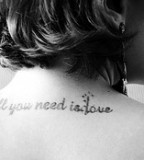 Tattoo Love Quotes Tattoo Design Gallery