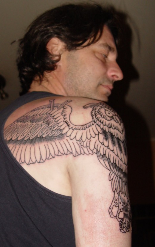Back Shoulder Wings Tattoo Designs For Men Tattoomagz Tattoo Designs Ink Works Body Arts Gallery