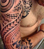 Amazing Shoulder Tattoos Design Ideas for Men