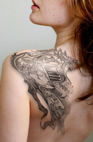 a8bbb5cc7 Awesome Shoulder Tattoo Design Idea for Women - Tattoos for Women ...