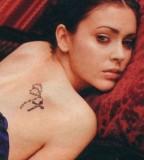 Cross Back Tattoos Lower Back Tattoos for Women