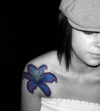 Beautiful Flower Tattoos On Shoulder - Tattoos for Women