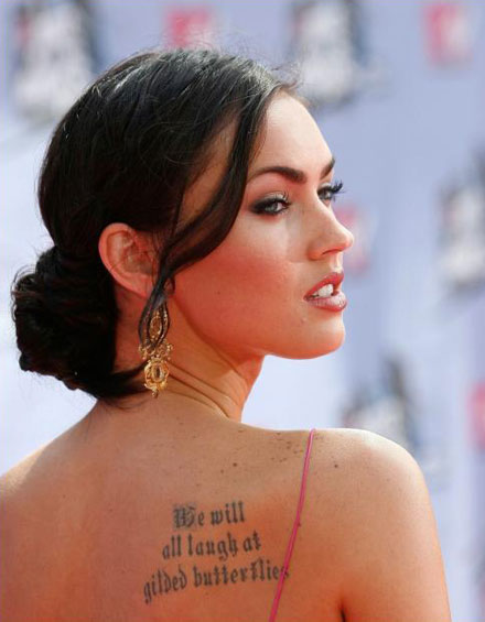 Lettering Tattoos Fonts Ideas Designs Pictures – Celebrity Tattoos