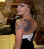 Women Shoulder / Back Mythical Animal Tattoo Designs Tattoos for Women