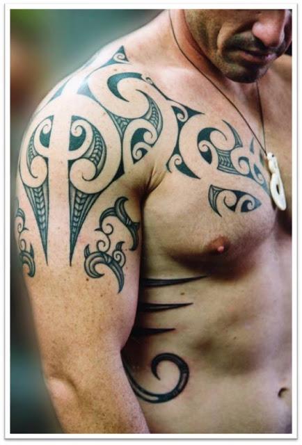 Crafting Chest / Shoulder / Arm Tattoo Design