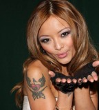 Tila Tequila Shoulder Tattoo