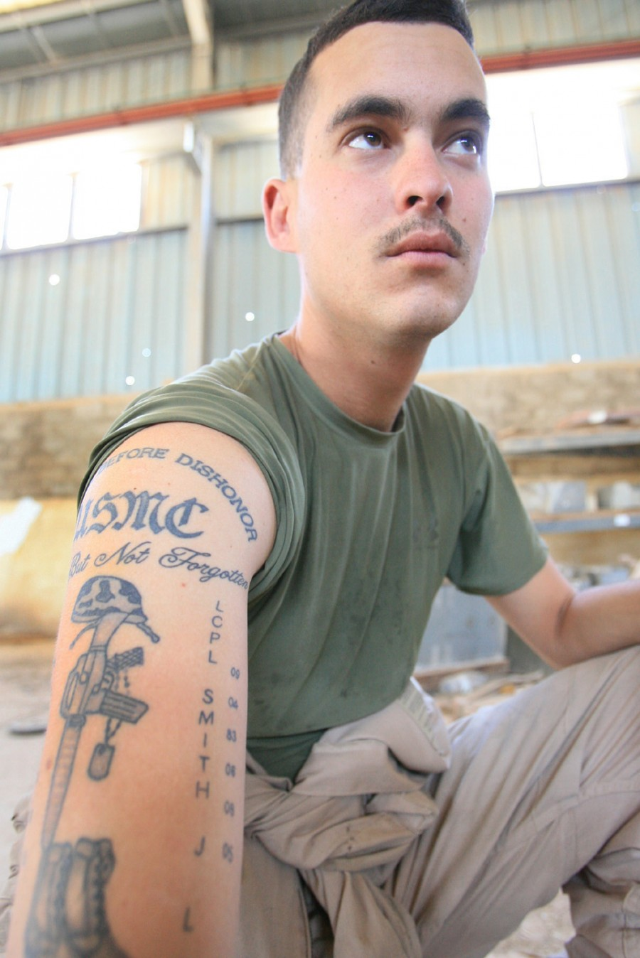 Balancing Tattoo Passion With Corps Standards