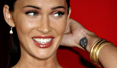 Megan Foxs Wrist Tattoo Designs