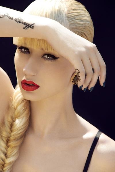 Vogue A La Mode Wrist Tattoo