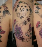 Horrendous Skull Tattoos - Shoulder Tattoo