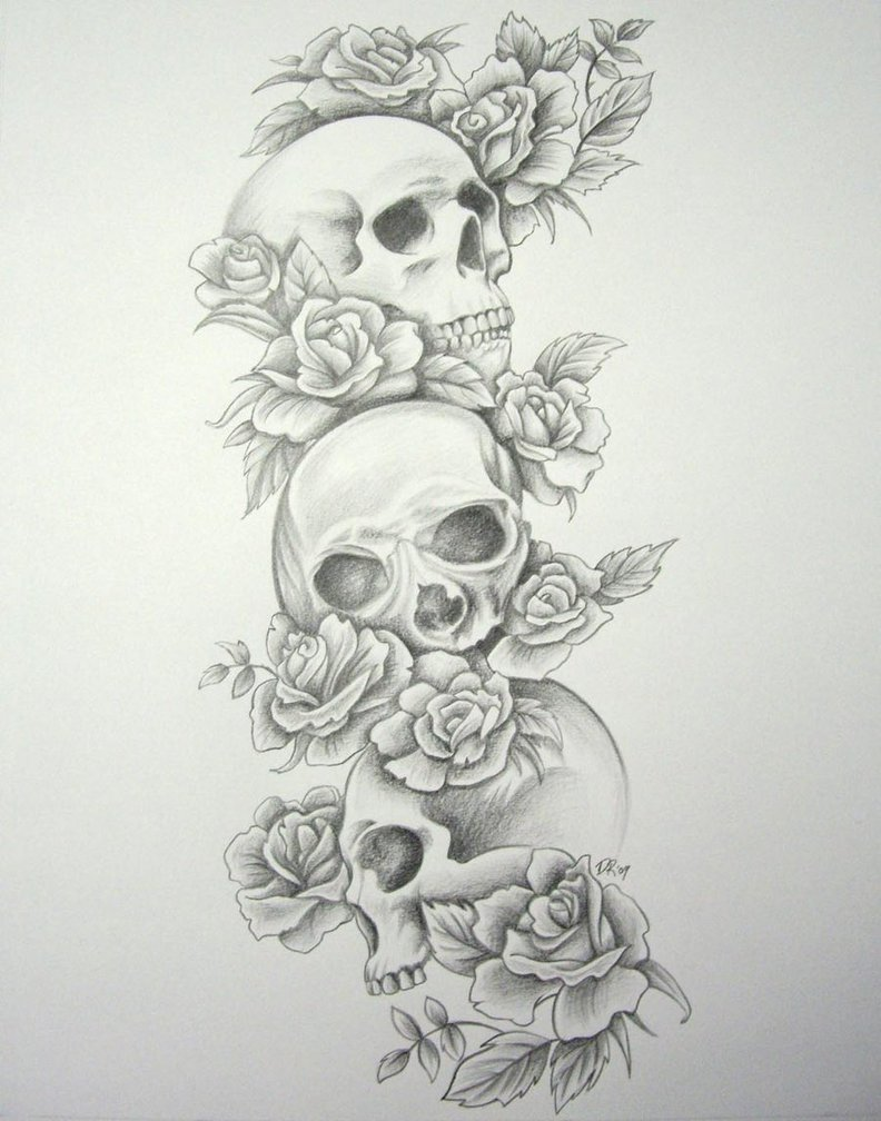 Skull Tattoo Meaning And Designs