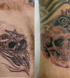 Rib Skull Tattoos Designs Ideas And Meaning