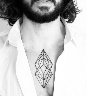 small-geometric-chest-tattoo-by-malvina-maria-wisniewska