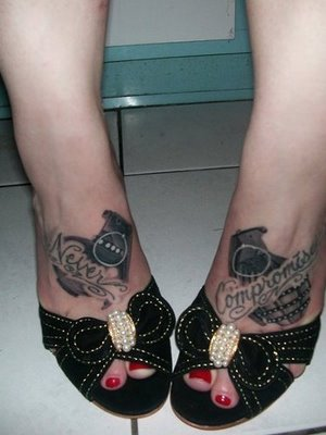 Crazy Pics Awesome Tattoos On Foot