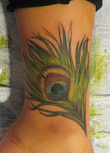 Photo Of Peacock Feather Tattoo
