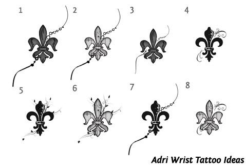 Jasmine Symbol Wrist Tattoo Ideas - | TattooMagz › Tattoo Designs ...