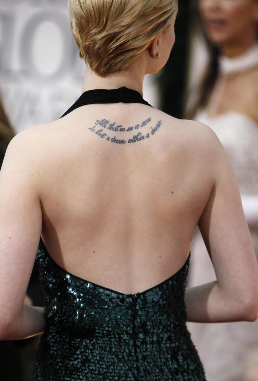The Best Of Tattooed Female Celebrities From Scarlett Johansson