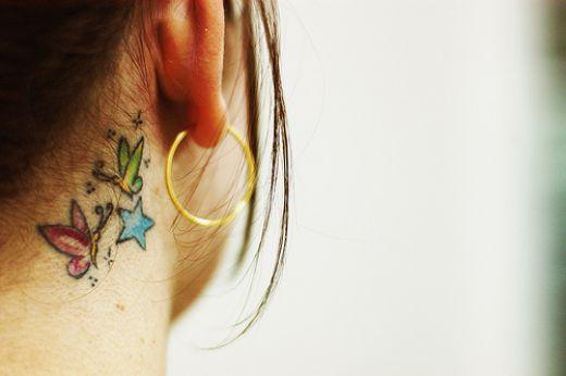 Knack Neck Tattoo Design