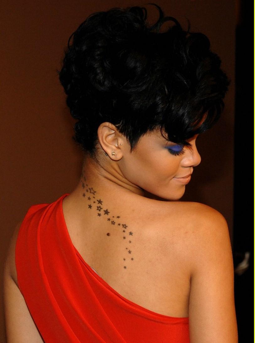 Rihanna Star Tattoo