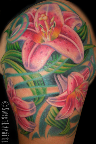Tattoo Inspiration Worlds Best Tattoos Flower Lily
